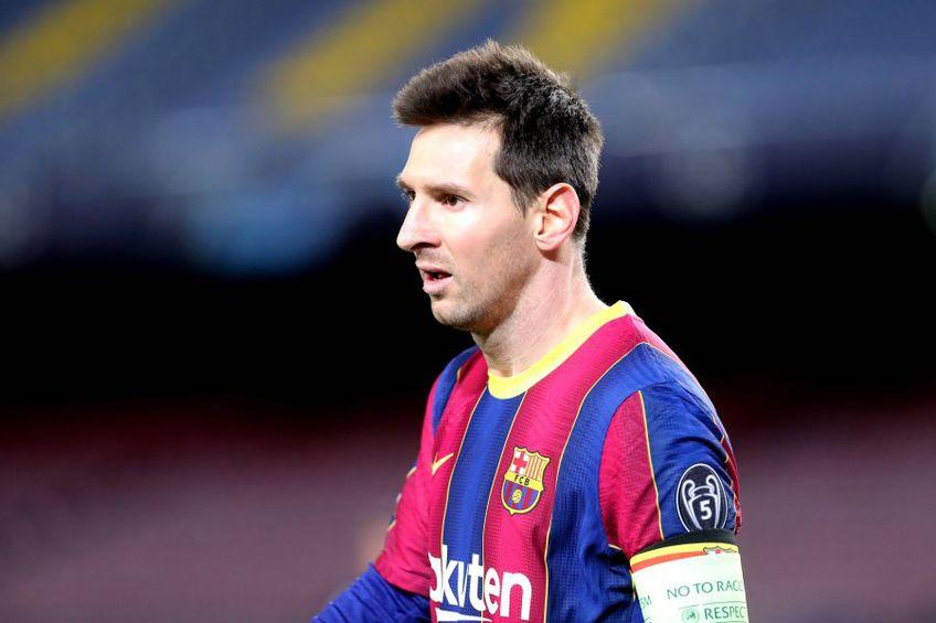 Leo Messi (33 de ani), căpitanul Barcelonei, a 7-a oară golgeterul anului în La Liga, se plânge de tabloul unui 2020 dezolant în fotbal. Cu stadioanele goale.