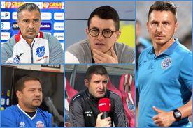 Fotbal profesionist, antrenori amatori! 5 echipe din Liga 1 sunt conduse de tehnicieni fără diplomă