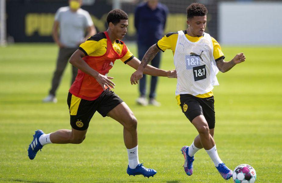 Sancho și Bellingham își vor petrece sărbătorile la antrenamente. // Foto: Getty Images