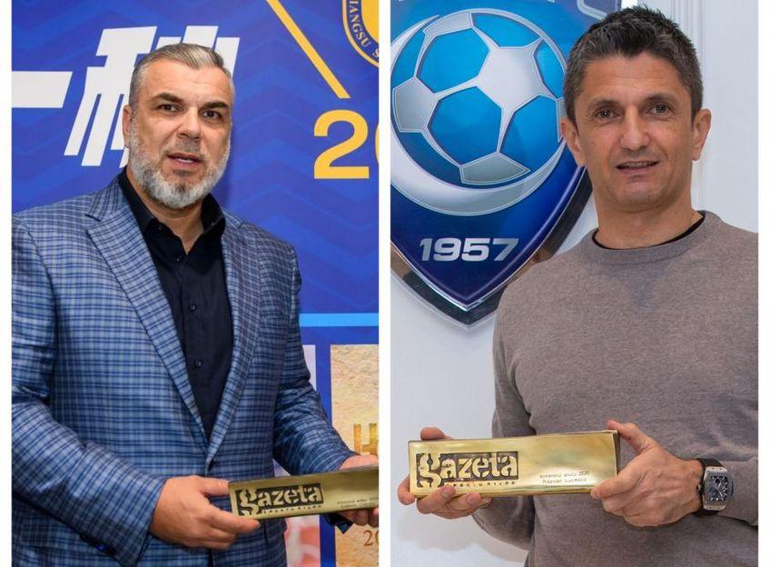 Cosmin Olăroiu (51 de ani) și Răzvan Lucescu (51 de ani) au terminat la egalitate perfectă în Ancheta Gazetei Sporturilor și împart premiul de cel mnai bun antrenor român din anul 2020.