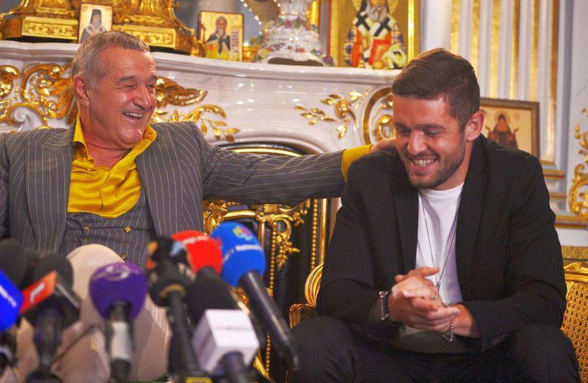 Sergiu Buș și Gigi Becali, finanțator FCSB