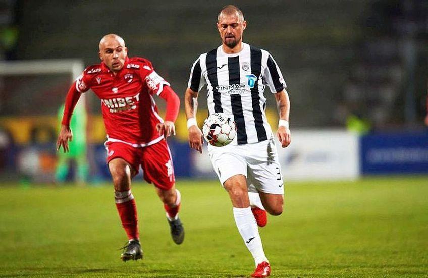FC Voluntari vrea să îl transfere pe Gabriel Tamaș (37 de ani), fundașul central al divizionarei secunde Universitatea Cluj.