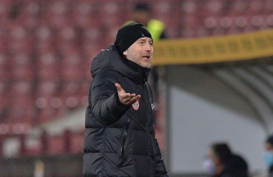 Edi Iordănescu (42 de ani) are mai multe motive de nemulțumire, înaintea duelului cu FC Hermannstadt, din etapa cu numărul 18 de Liga 1.