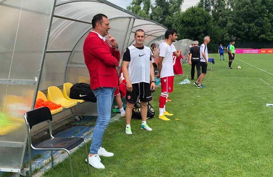 Gabi Răduță, fostul șef al Academiei lui Dinamo, spune că Dinamo ar fi putut obține bani frumoși pe ConstantinDima (21 de ani), fundașul central care a plecat de la Astra în Ucraina, la Desna.