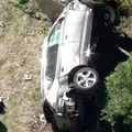 Imagini de la locul accidentului în care a fost implicat Tiger Woods / Sursă foto: KNBC-TV