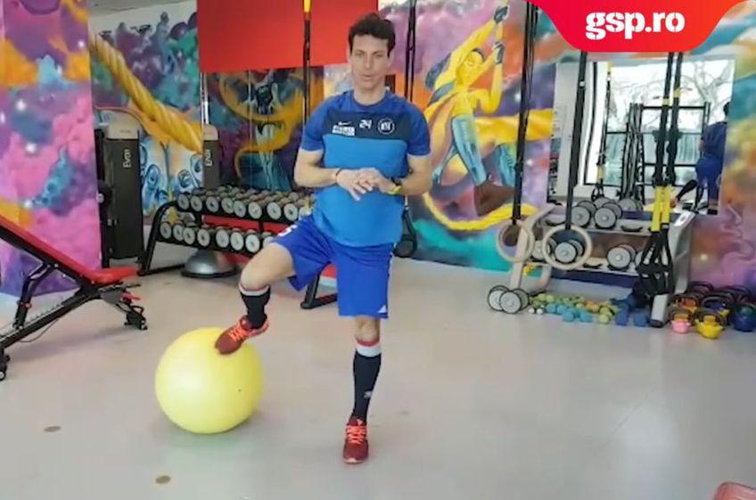 Ionuț Rada s-a alăturat campaniei #sportacasă