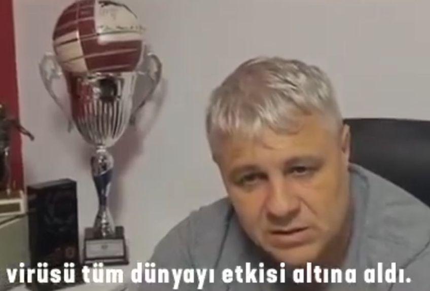 Marius Șumudică // sursă foto: facebook Gaziantep Futbol Kulubu