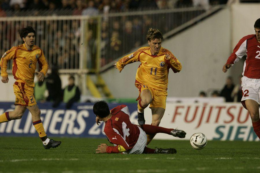 Mitea a fost eroul ultimului meci oficial împotriva macedonenilor, 2-1, disputat pe 30 martie 2005