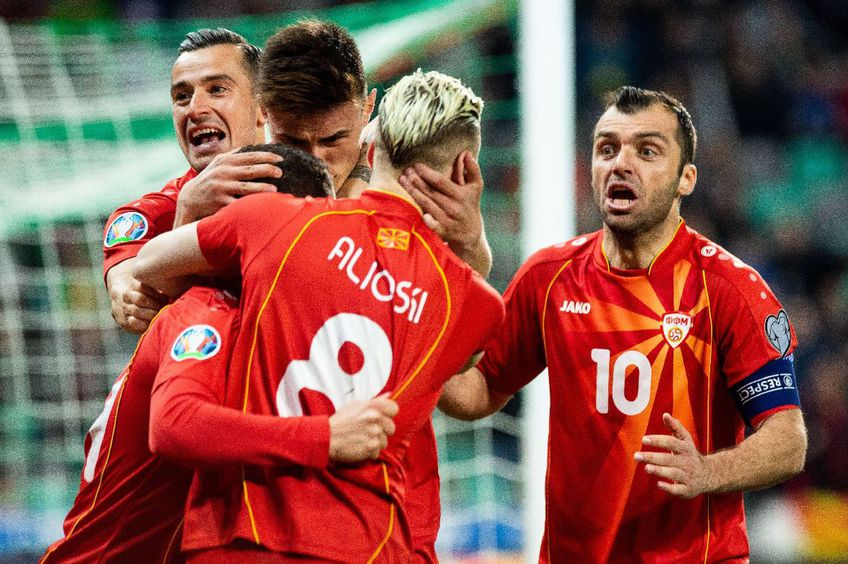 Naționala Macedoniei de Nord este calificiată la EURO 2020 FOTO Imago