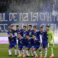 Suporterii Craiovei cer arbitraje corecte. Sursă foto: Bogdan Dănescu