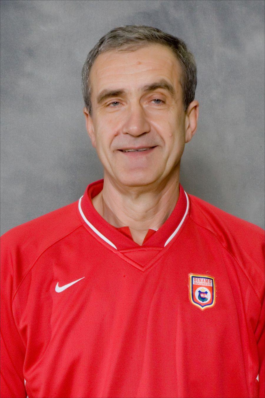 Vasile Popa, fostul internațional și antrenor al lui Dinamo FOTO CS Dinamo