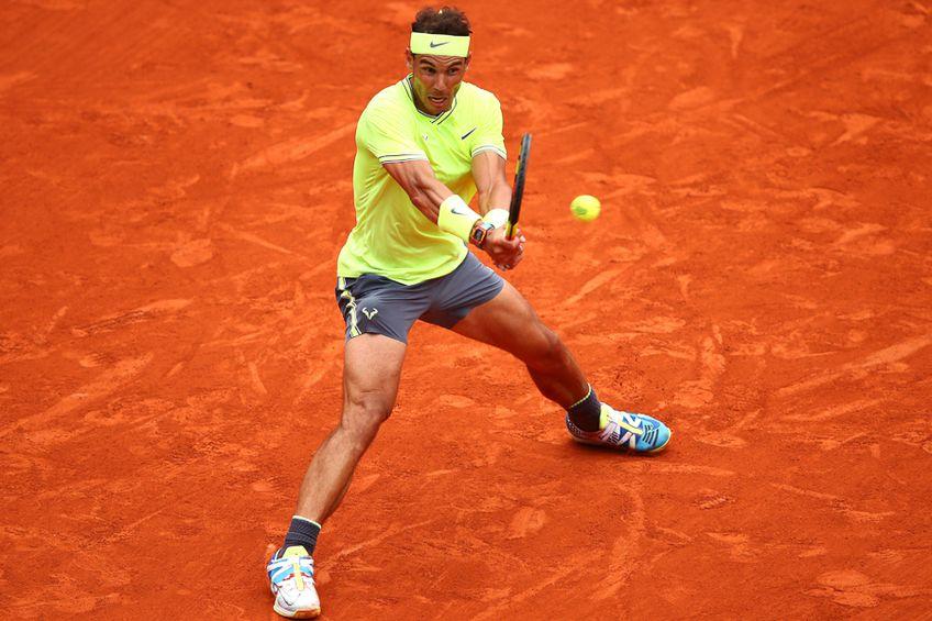 Rafael Nadal a câştigat de 12 ori pe zgura de la Roland Garros FOTO: Gulliver/GettyIMages