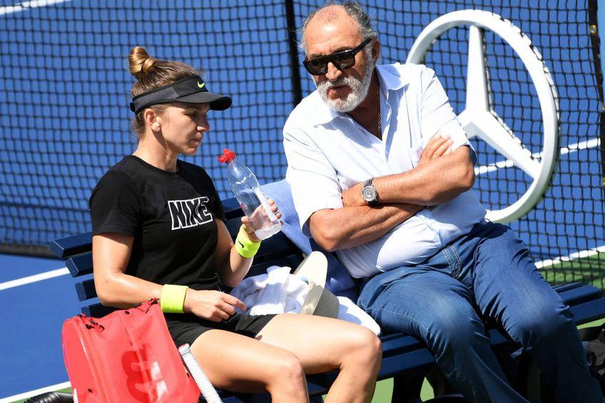 Ion Țiriac a sunat-o pe Simona Halep după primul meci de la Stuttgart. Sursă foto: Imago Images