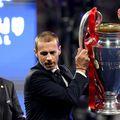 Aleksander Čeferin, liderul forului continental din septembrie 2016, a avut un salariu de 2,19 milioane de euro anul trecut. În 2019, primise 1,74 milioane. Foto: Guliver/GettyImages