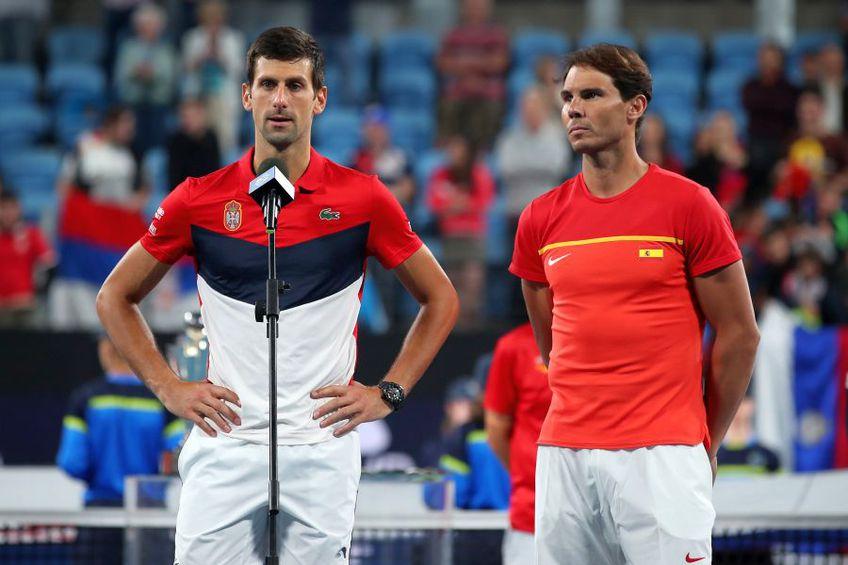 Novak Djokovic organizează un turneu în scopuri umanitare. foto: Guliver/Getty Images