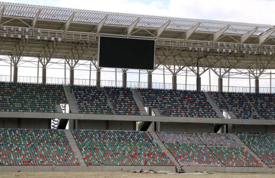 Așa arată stadionul din Ghencea acum // sursă foto: Facebook @ Steaua TV official
