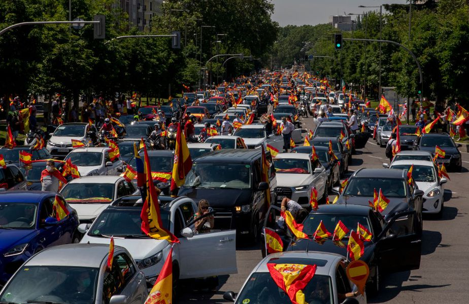 Protest de amploare în Spania