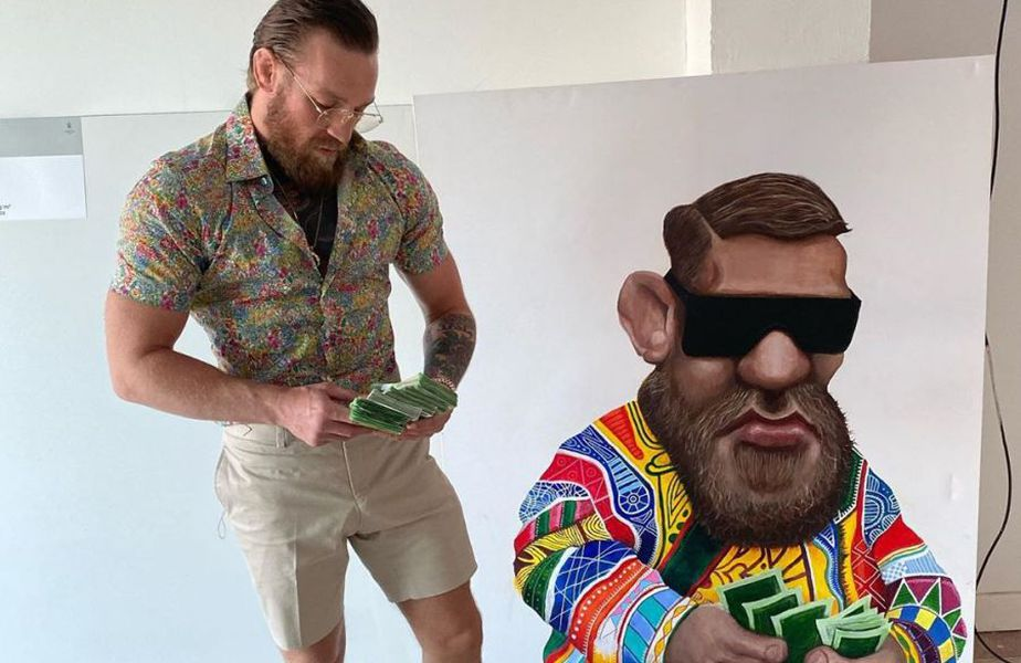 Conor McGregor // foto: Instagram @ thenotoriousmma