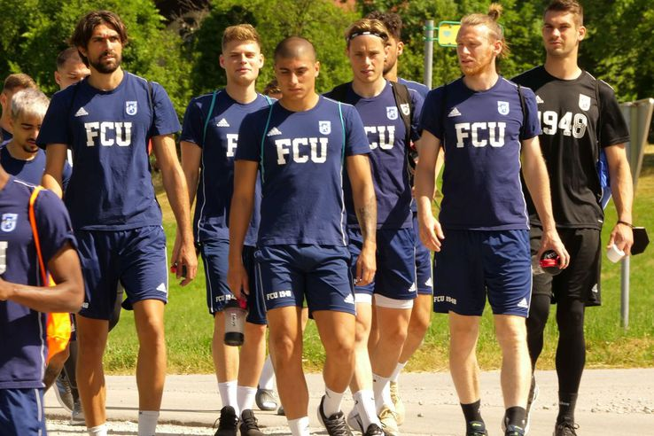 Antrenament FCU Craiova (foto: Vlad Nedelea/GSP)