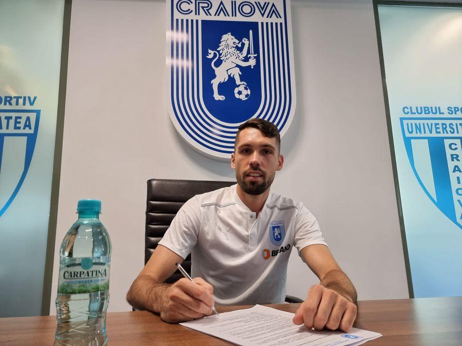 CSU Craiova, mutare impresionantă pe piața transferurilor! Ouzounidis și-a luat fundaș trecut pe la Dinamo și FCSB