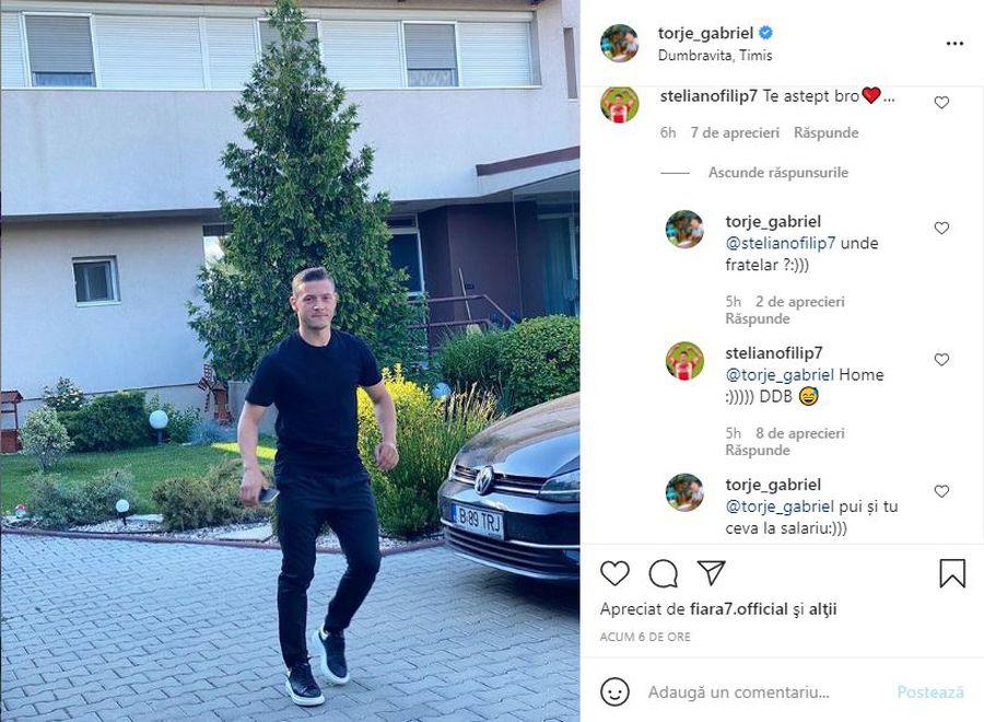 "Gabi Torje și Steliano Filip, dialog savuros pe tema transferului la Dinamo: ""Pui și tu ceva la salariu"""