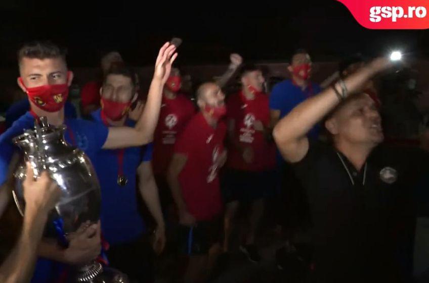 FCSB a câștigat Cupa României, după ce a învins-o în finală Sepsi, scor 1-0