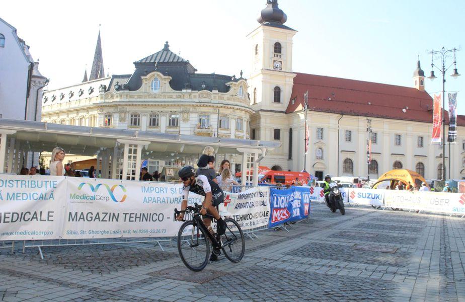 Imagine de anul trecut din Turul Sibiului FOTO sportpictures.eu