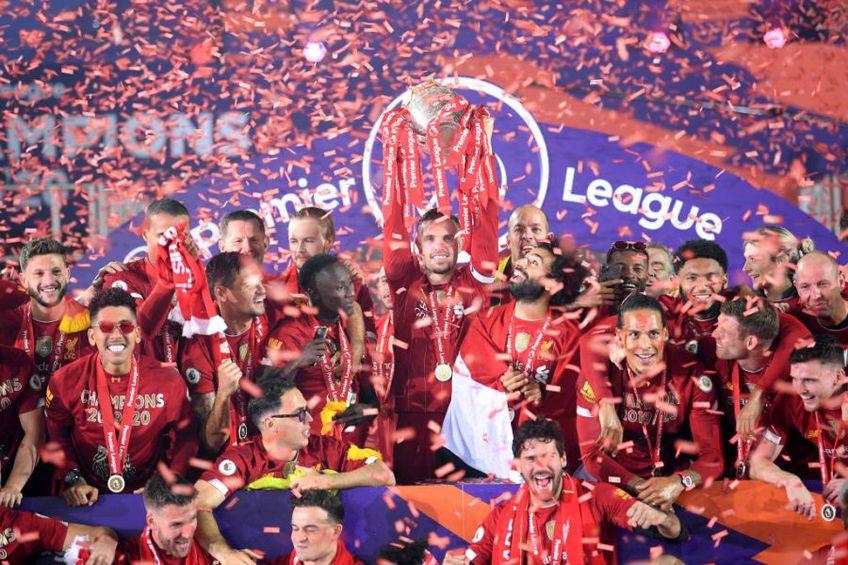Liverpool a câștigat titlul în Premier League după 30 de ani // Sursă foto: Getty