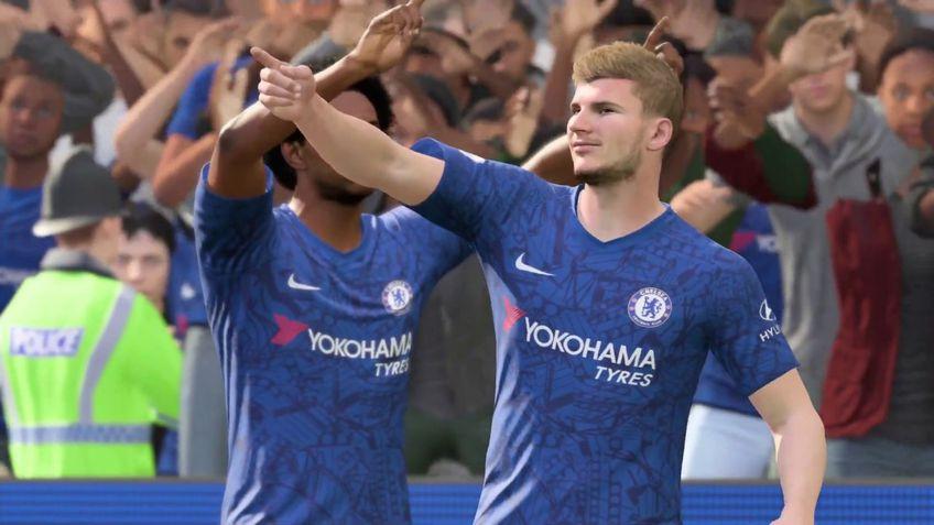 Werner și Ziyech au fost adăugați deja lotului lui Chelsea în Ultimate Team