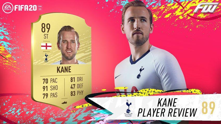 Harry Kane este lider în Echipa Săptămânii la FIFA 20