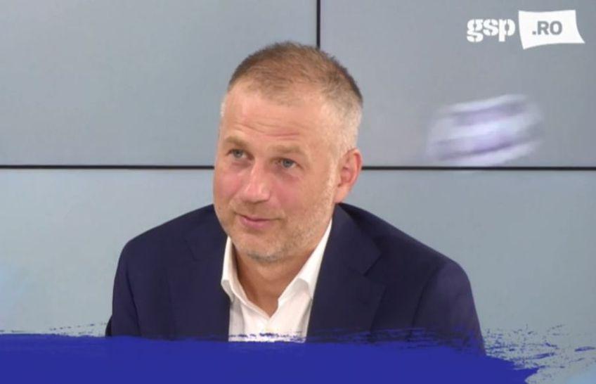Edi Iordănescu a fost invitat în această dimineață la GSP Live