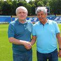 Igor Surkis și Mircea Lucescu FOTO: fcdynamo.kiev.ua