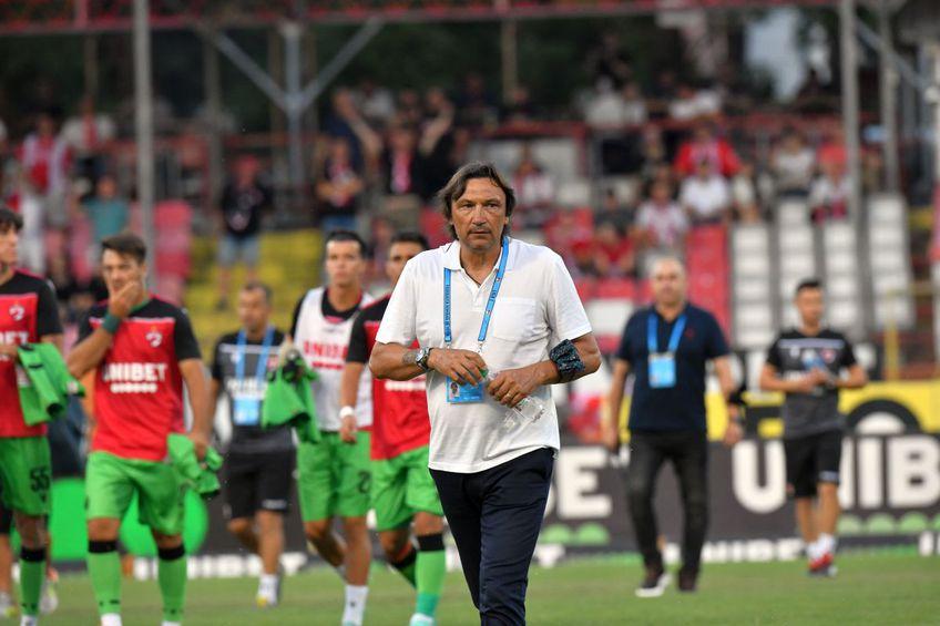 Dario Bonetti trebuie să rezolve problemele din zona defensivă. FOTO: GSP