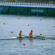 Simona Radiș și Ancuța Bodnar au câștigat la pas prima cursă disputată la Tokyo / FOTO: Raed Krishan