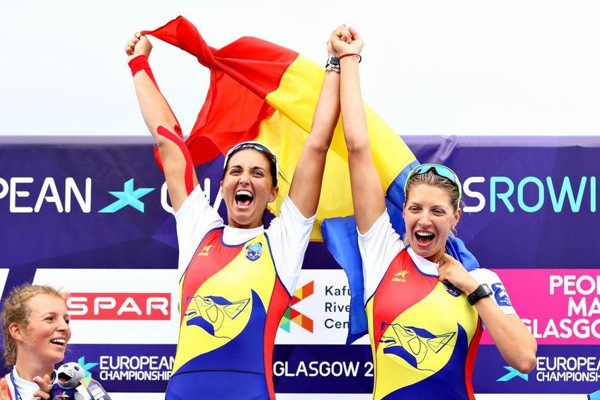 Mădălina Bereș, alături de Denisa Tîlvescu / foto: Guliver/Getty Images