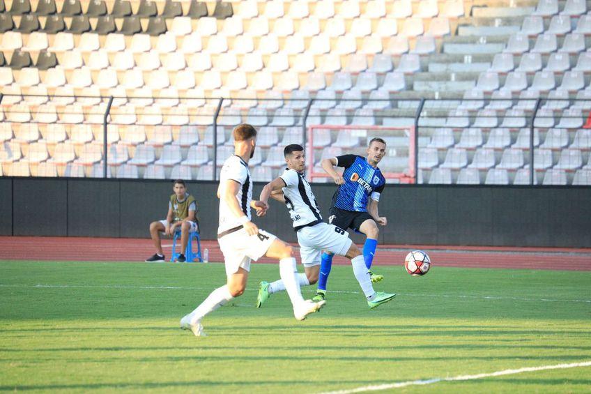 CSU Craiova a pirdut meciul din deplasare de la KF Laci, scor 0-1.
