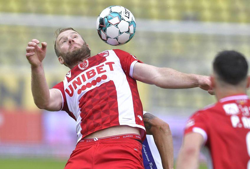 Adam Nemec, 35 de ani, liber de contract după despărțirea de Dinamo, ar putea continua în Liga 1, la FC Voluntari.