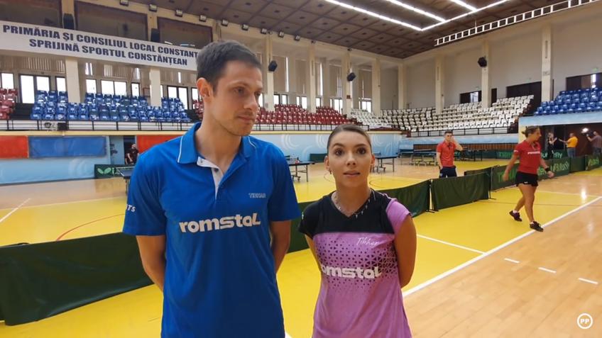 Ovidiu Ionescu și Bernie Szocs