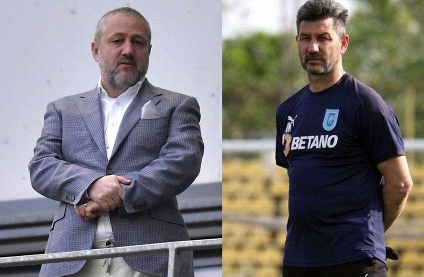 Marinos Ouzounidis (52 de ani) s-a despărțit de Universitatea Craiova. Sorin Cârțu, președintele oltenilor, susține că ruptura s-a produs în ultimele ore. Principalul motiv: lipsa de rezultate.