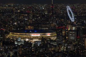 Moment SF în timpul ceremoniei de la Tokyo! Peste 1.800 de drone au apărut deasupra arenei
