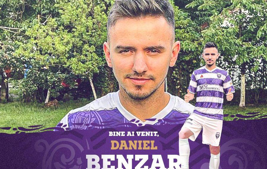 Unde a ajuns Daniel Benzar, jucătorul căruia Becali i-a pus o clauză de 20 de milioane de euro