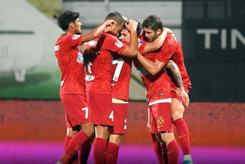 Dennis Man a deschis scorul în Astra - FCSB 0-3 // foto: Raed Krishan