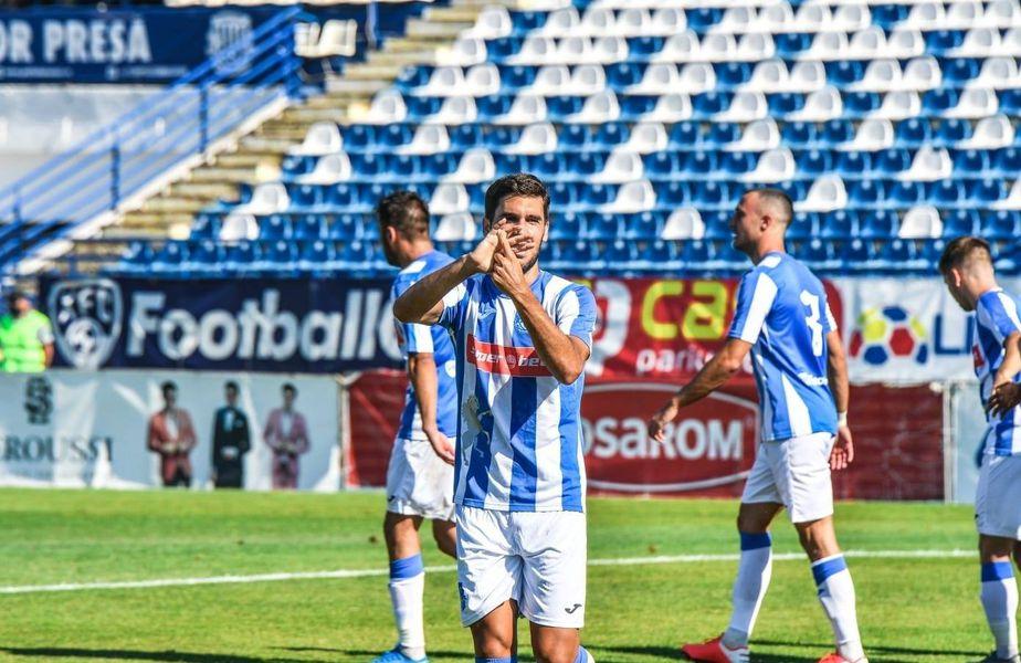 Poli Iași a câștigat meciul cu Chindia Târgoviște, scor 1-0, în prima rundă a noului sezon de Liga 1.