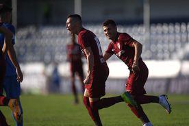 ACADEMICA CLINCENI - CFR CLUJ 1-2. VIDEO + FOTO Victorie chinuită înaintea duelului cu Dinamo Zagreb, din preliminariile Ligii Campionilor