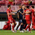 Un conflict iscat în minutul 52, la scorul de 0-0, a avut un deznodământ plin de fair-play.