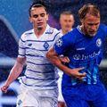 Gent - Dinamo Kiev s-a jucat pe o ploaie câinească. Sursă foto: twitter.com/kaagent