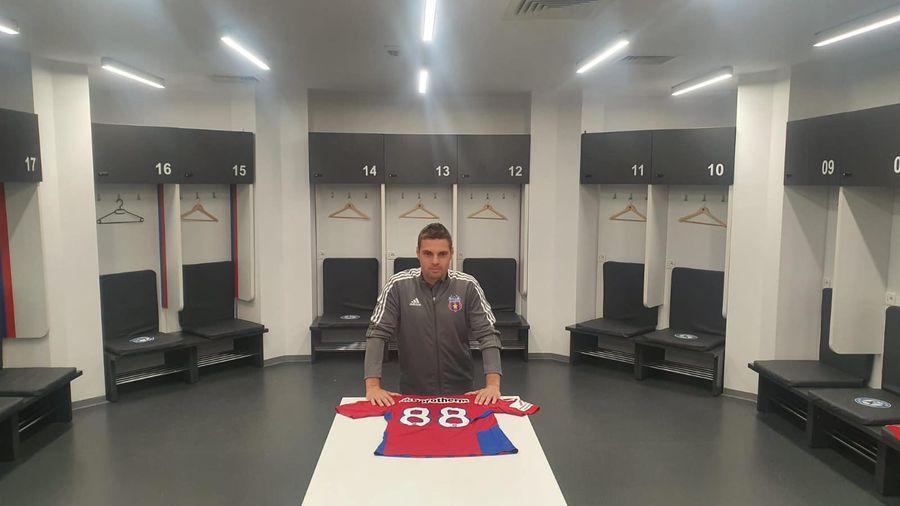 Adi Popa, prezentat oficial la Steaua! Ce număr va purta