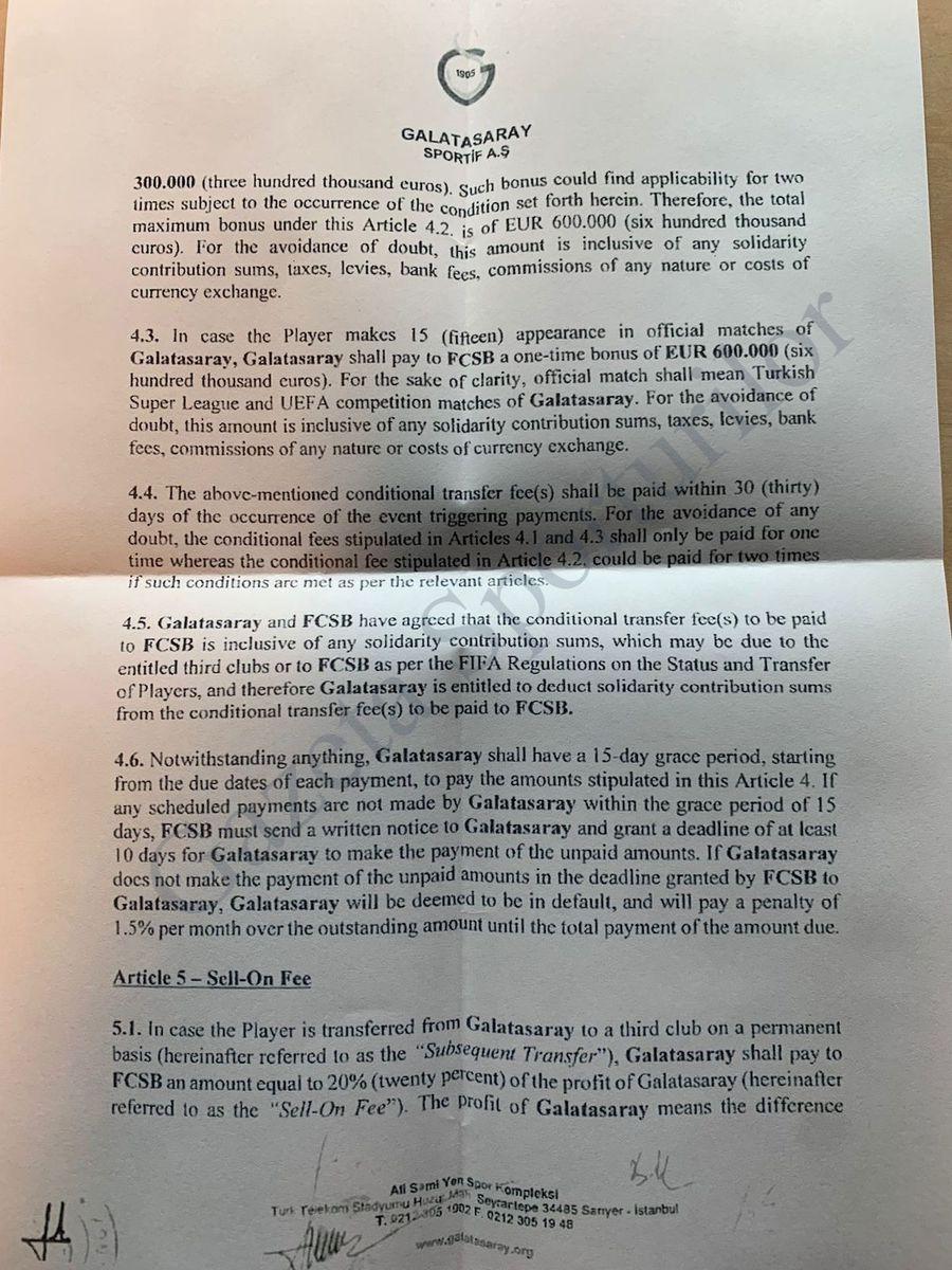 Procese și tensiuni produse de milioanele lui Becali » FCSB, acuzată de rea credință după transferurile vedetelor sale + Gazeta publică actele vânzării lui Moruțan