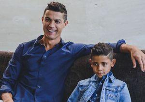 """Reacţia fiului lui Cristiano Ronaldo când l-a văzut pe Messi: """"A fost un moment foarte amuzant"""""""