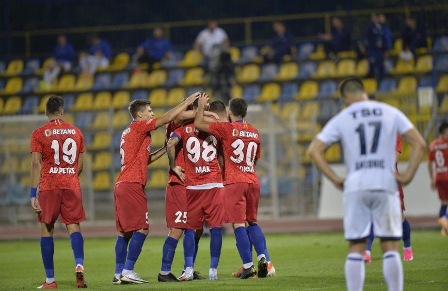 Ovidiu Horșia a jucat în două partide pentru FCSB